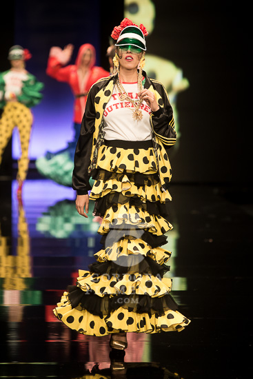 Simof 2018 - Antonio Gutiérrez - Trajes de Flamenca - Moda Flamenca - Tendencias de Moda Flamenca 2018