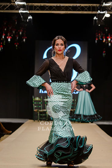 Pasarela Flamenca de Jerez 2018 - Inma de Benicio - Trajes de Flamenca 2018 - Moda Flamenca 2018