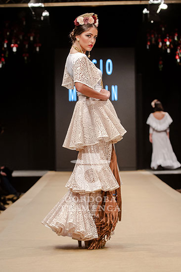 Pasarela Flamenca de Jerez 2018 - Rocío Martín 'Degitana' - Trajes de Flamenca 2018 - Moda Flamenca 2018
