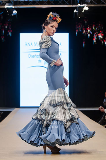 Pasarela Flamenca de Jerez 2018 - Ana María Jarana - Trajes de Flamenca 2018 - Moda Flamenca 2018