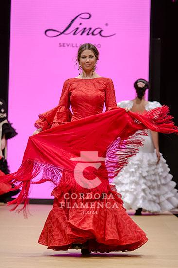 Pasarela Flamenca de Jerez 2018 - Lina 1960 - Trajes de Flamenca - Moda Flamenca 2018