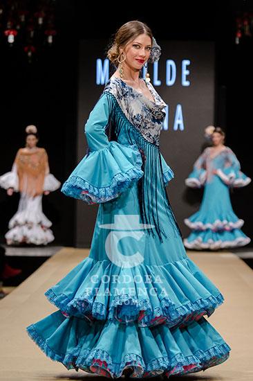Pasarela Flamenca de Jerez 2018 - Matilde Solana - Trajes de Flamenca 2018 - Moda Flamenca 2018