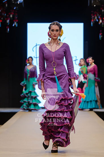 Pasarela Flamenca de Jerez 2018 - Pol Nüñez - Moda Flamenca 2018 - Trajes de Flamenca 2018