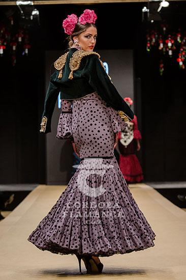 Pasarela Flamenca de Jerez 2018 - Rocío Peralta - Moda Flamenca 2018 - Trajes de Flamenca 2018