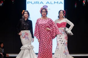Pasarela Flamenca de Jerez 2018 - Rocío Segovia - Trajes de Flamenca 2018 - Moda Flamenca 2018