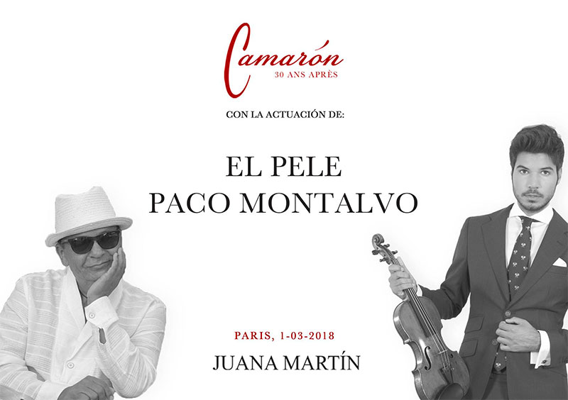 Juana Martín - Semana de la Moda de París - Moda Flamenca - Juana Martín 2018 - Camarón 30 ans après -