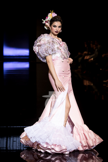 Simof 2018 - Luis Fernández - Moda Flamenca - Trajes de Flamenca