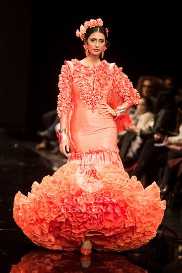 Simof 2018 - Ana Morón - Trajes de Flamenca - Moda Flamenca - Tendencias Moda Flamenca 2018
