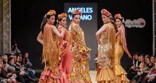 Pasarela Flamenca de Jerez 2018 - Tendencias en Moda flamenca - Trajes de Flamenca - Ángeles Verano