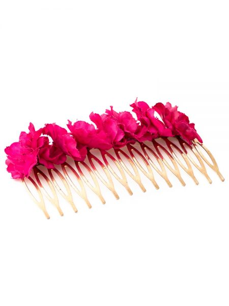 Peinecillos de flamenca - Peinecillos de flamenca con flores - Peinecillos de flamenca hechos a mano - Peinecillos de flamenca originales - Complementos de Flamenca originales - Complementos de flamenca 2018