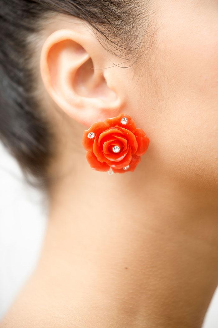 Pendientes de flamenca con diamantes - Pendientes de flamenca con cristales Swarovski - Pendientes de flamenc Joyería cordobesa - Pendientes de flamenca hechos a mano - Pendientes de flamenca originales - Pendientes de Flamenca Artesanales - Cisco Romero