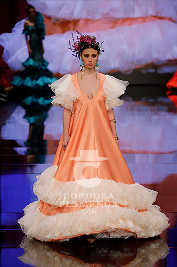 Simof 2018 - Certamen Noveles - Trajes de Flamenca - Moda Flamenca - Diseñadores - Gil Ortiz