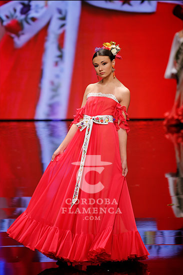 Simof 2018 - Certamen Noveles - Trajes de Flamenca - Moda Flamenca - Diseñadores - Javier León.