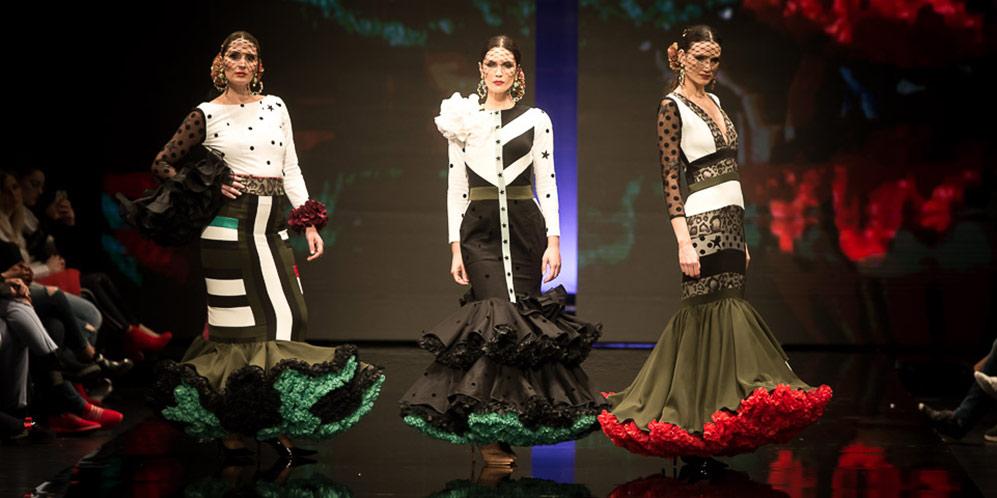 Trajes de flamenca en Simof 2018 - Tendencias moda flamenca 2018 - Moda Flamenca