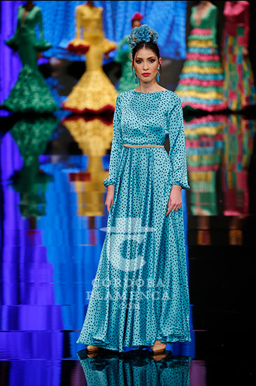 Simof 2018 - Carmen Raimundo - Trajes de Flamenca - Moda Flamenca