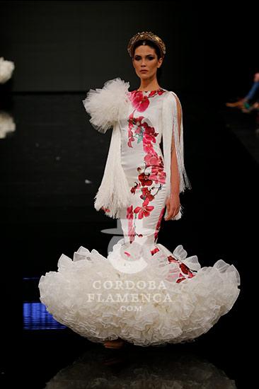 Trajes de flamenca en Simof 2018 - Ernesto Sillero - Moda Flamenca 2018 -