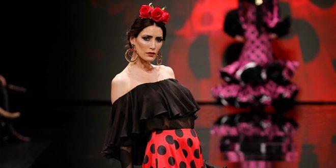 Trajes de flamenca en Simof 2018 - Hermanas Serrano - Moda Flamenca 2018 -
