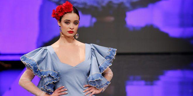 Trajes de flamenca en Simof 2018 - Leticia Lorenzo - Moda Flamenca 2018 -