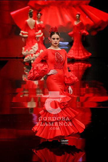 Trajes de flamenca en Simof 2018 - Mayka Santos - Moda Flamenca 2018-