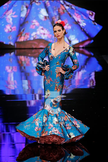 Trajes de flamenca en Simof 2018 - Miriam Galvín - Moda Flamenca 2018 -