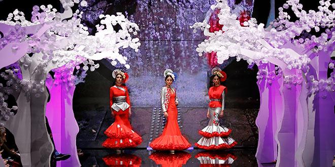 Simof 2018 - Patricia Bazarot - Moda Flamenca - Trajes de Flamenca - Sakura