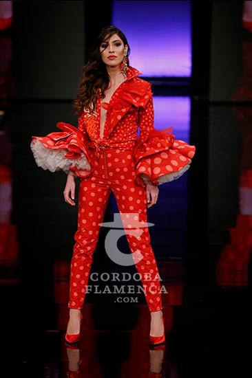 Simof 2018 - Trajes de Flamenca - Moda Flamenca - Andrew Pocrid