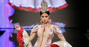 Trajes de flamenca en Simof 2018 - Francisco Tamaral - Moda Flamenca 2018 -