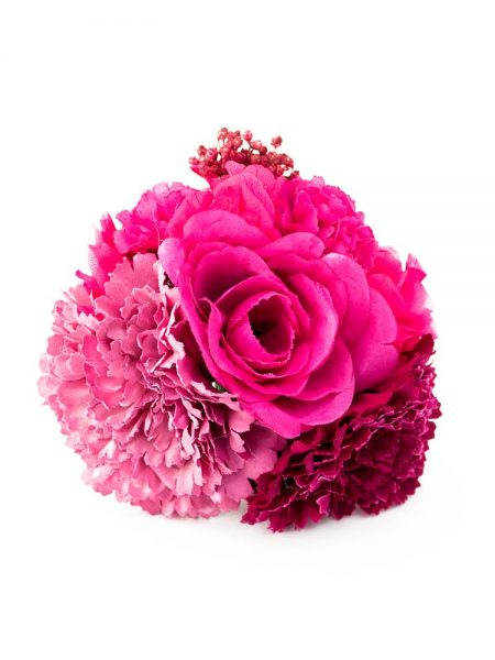 Ramillete de flamenca - Ramillete de flores de flamenca - Ramillete de flores - Ramillete de claveles - Ramillete de Rosas -. Ramillete de flores secas - Ramillete de flores rosas - Ramillete de Flores hecho a mano - Ramillete de flores de tela - Tocado de flores de flamenca - complementos de flamenca