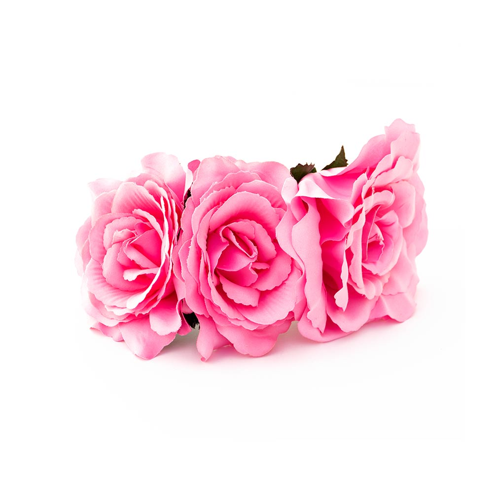 Tocado De Flamenca De Rosas Complementos De Flamenca