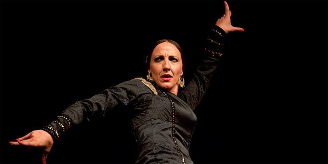 Encarna López - Café Cantante - Baile Flamenco - Centro Flamenco Fosforito - Toni Blanco