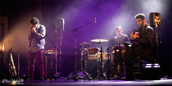 Actuación de Diego Villegas Trío. Foto: Paco Lobato.