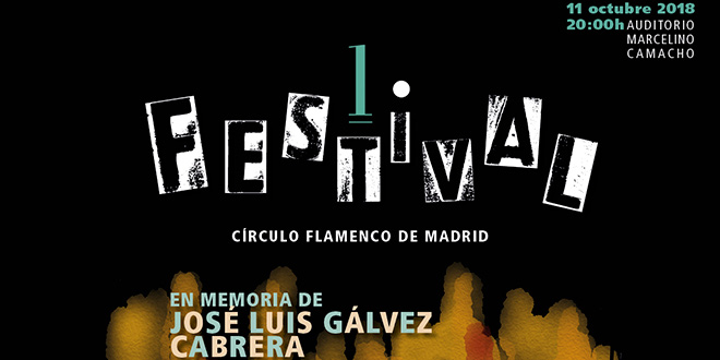 I Festival Círculo Flamenco de Madrid.