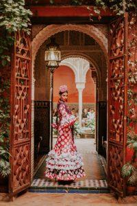 We love Flamenco 2019. Desfile Presentación. Foto: Javier Mateos. Moda Flamenca. Trajes de Flamenca