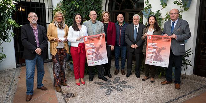Acto de presentación del XXI Cordobán Flamenco celebrado en Bodegas Campos. Foto: A. Higuera.