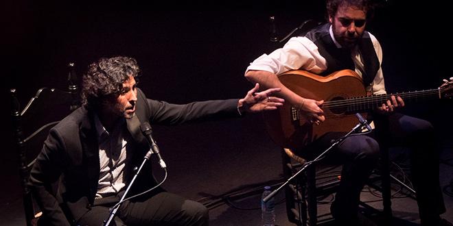 Espectáculo Abecedario Flamenco de Arcángel en el Gran Teatro de Córdoba. Foto: A. Higuera.