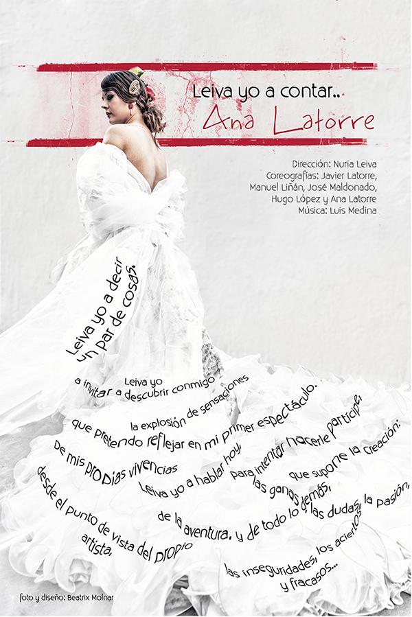 Ana Latorre | Leiva yo a contar @ Teatro Góngora | Córdoba | Andalucía | España