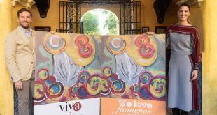 Javier Villa y Laura Sánchez, en la presentación de We love Flamenco 2019. Foto: cordobaflamenca.com