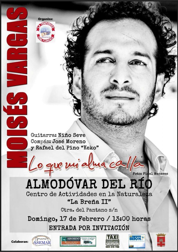 Moisés Vargas | Lo que mi alma calla @ Centro Actividades en la Naturaleza 'La Breña II' | Almodóvar del Río | Andalucía | España
