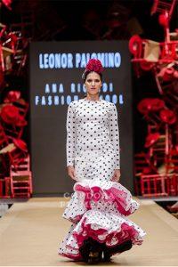 Pasarela Flamenca de Jerez 2019. Ana Ricardi. Moda Flamenca