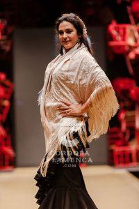 Pasarela Flamenca de Jerez 2019. Ángeles Verano. Moda Flamenca