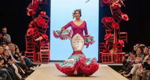 Pasarela Flamenca de Jerez 2019. Carolina López. Moda Flamenca