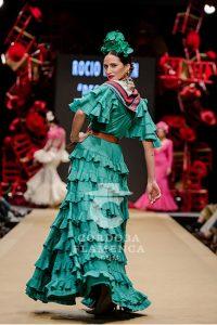Pasarela Flamenca de Jerez 2019. Rocío Martín 'Degitana'. Moda Flamenca