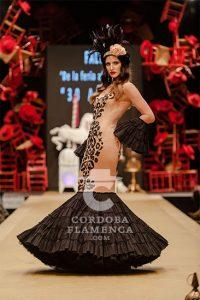 Pasarela Flamenca de Jerez 2019. Faly, de la Feria al Rocío. Moda Flamenca