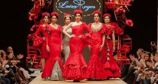 Pasarela Flamenca de Jerez 2019. Luisa Reyes. Moda Flamenca