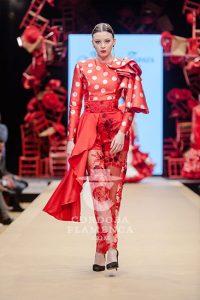 Pasarela Flamenca de jerez 2019. Marco Zapata. Moda Flamenca