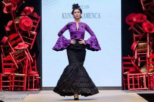 Pasarela Flamenca de Jerez 2019. Maruja Lunares. Kuna Flamenca, Moda Flamenca