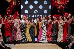 Pasarela Flamenca Jerez 2019. Micaela Villa. Moda Flamenca