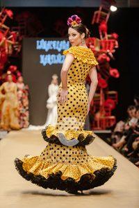 Pasarela Flamenca de Jerez 2019. Certamen Diseñadores Noveles. Moda Flamenca