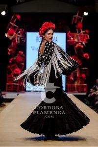 Pasarela Flamenca de Jerez 2019. Rocío Lama. Moda Flamenca