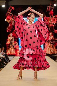 Pasarela Flamenca de Jerez 2019. Rocío Segovia. Moda Flamenca
